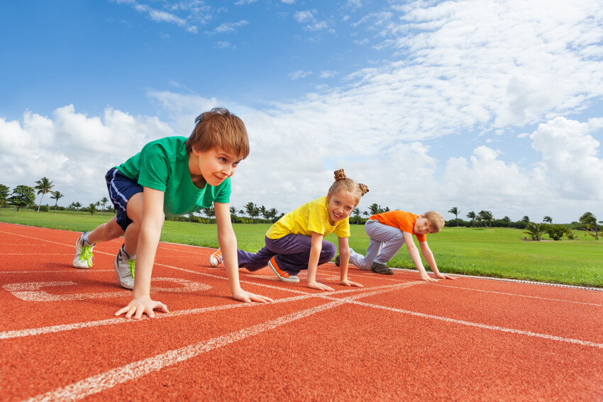 running coaching for children in fleet hampshire