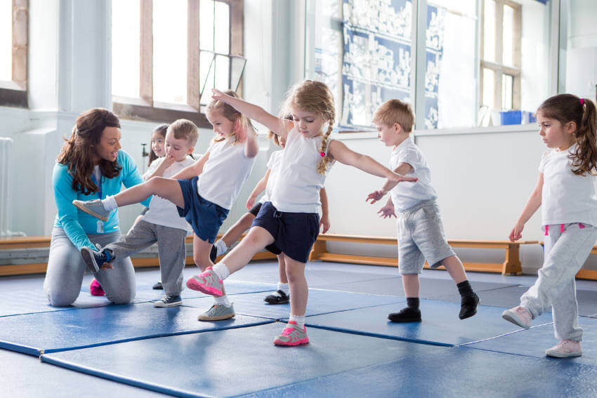 Children and Physio in Fleet Hampshire